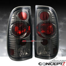 97 98 99 00 01-03 FORD F150 04 05 F250 F350 TAILLIGHTS LIGHT SMOKE LENS