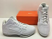 Nike Air Flight Showup 2 Basketball White Trainer Casual Sneakers Shoes Mens 8.5