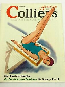 Collier's Magazine The Amateur Touch August 3,1935