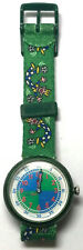 FLIK FLAK SWATCH Watch Kids Youngster Soccer Design 1997 Swiss Easy to Tell Time