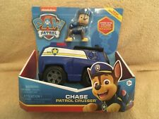 """Paw Patrol """"Chase"""" Patrol Crusier...from Nickelodeon ..New and Sealed"""
