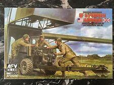 AFV CLUB 1/35 WW II BRITISH AIRBORNE QF 6-POUNDER ANTI-TANK GUN MKIV # 35219 F/S
