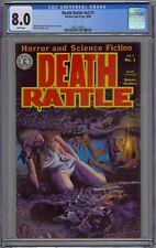 Death Rattle #v2 #1 CGC 8.0 VF Wp Kitchen Sink Press 1985 Richard Corben Cover