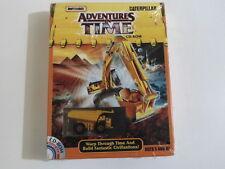 PC Matchbox Caterpillar: aventuras en el tiempo Mattel WIN 95/98 acción, educativas
