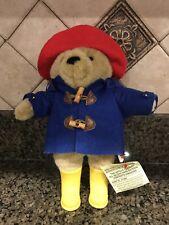 "Paddington Bear 11"" Classic Plush Stuffed Bear, Raincoat, Yellow Boots, Nice !"