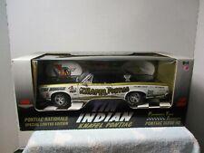 1/18 ERTL TIN INDIAN KNAFEL PONTIAC 1966 PONTIAC GTO