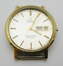 Vintage OMEGA Gold Filled Men's Automatic Wristwatch SEAMASTER DeVille