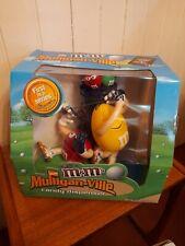 More details for m&m's lmulligan-ville golf sweet/candy dispenser rare blue edition plus extras