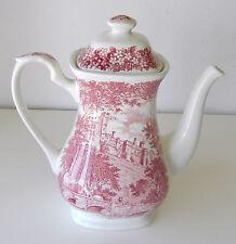 "Lovely Vintage English Transferware Teapot Merrie England ""Haddon Hall"" Pattern"