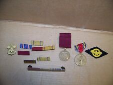 US Navy WW2 Good Conduct Medal Constitution 1945 Plus 7 Ribbon Bars.. EXTRAS