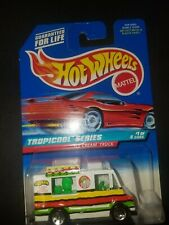 HOT WHEELS Tropicool Series Ice Cream Truck #1 of 4 cars MOC H10