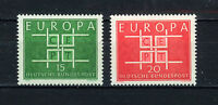 ALEMANIA/RFA WEST GERMANY 1963 MNH SC.867/868 CEPT
