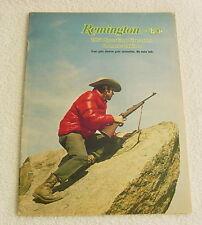 REMINGTON FIREARMS 1974 GUN AMMO CATALOG