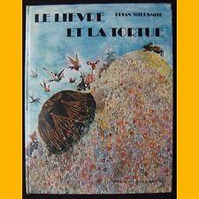 LE LIÈVRE ET LA TORTUE Jean de La Fontaine Brian Wildsmith 1973