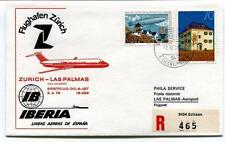 FFC 1979 IBERIA DC-9 Jet Volo Speciale Zurich Las Palmas Spagna - Schaan