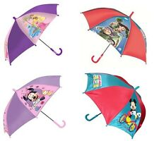 Kids Children Disney TV Film Characters Rain Umbrella Brolly School Umbrella New