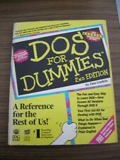 USED BOOK DOS FOR DUMMIES 2ND EDITION BY DAN GOOKIN AS IS GOOD SHAPE PAPERBACK