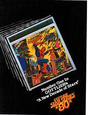 SPIDER-MAN Original PINBALL Flyer GOTTLIEB '80 PROMO Brochure Ad Slick SPIDERMAN