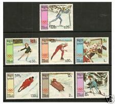Kampuchéa - 1987 Juegos Olímpicos de Invierno Set-estampillada sin montar o nunca montada-SG 788/94