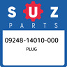 09248-14010-000 Suzuki Plug 0924814010000, New Genuine OEM Part