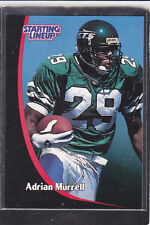 1998 Adrian Murrell - Starting Lineup Card - Slu - New York Jets