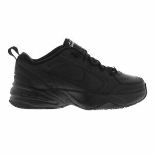 Nike Air Monarch Fitness Training Shoes Mens Black Gym Workout Trainers Sneakers