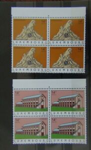 Luxembourg 1993 Tourism set in block x 4 MNH