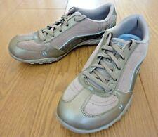 Skechers Memory Foam Ladies Lace up Low Top Silver Grey Trainers UK 5 EU 38 US 8