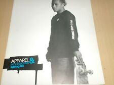 catalog vintage skateboard dvs apparel spring 2004 .E
