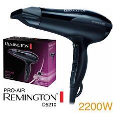 REMINGTON D5210 Asciugacapelli, 2200 Watt, Griglia Ionica Ceramica PHON PRO AIR