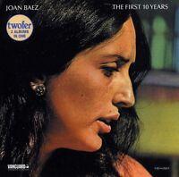 Joan Baez - First Ten Years [New CD]