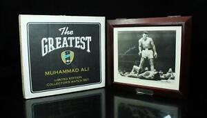 Muhammad Ali Fossil Watch Set 2548 /7500 Limited Mint Condition With Tag