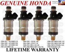 OEM 4X Fuel Injectors for Honda Accord Civic CRX Prelude Integra 1.6L 2.0L 2.2L