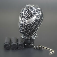 Manual Gear Stick Shift Shifter Lever Knob Carved Universal Car Truck Spider Man