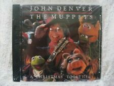 JOHN DENVER...THE MUPPETS CD...A CHRISTMAS TOGETHER...13 SONGS...NEW SEALED