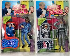 Austin Powers Moon Mission Dr Evil / Carnaby Austin Action Figure lot McFarlane