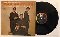 Introducing The Beatles - 1964 Vee-Jay Mono Rainbow Brackets / No Comma VG++