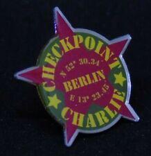 BERLIN WALL souvenir Checkpoint Charly Pin, PB001