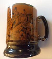 Arthur Wood Pottery Mug Ye Olde Coaching & chasse jours Gloss Marron CHASSE scènes