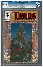 TUROK, DINOSAUR HUNTER #1 CGC 9.8 (7/93) Valiant white pages