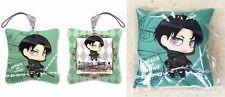 Attack on Titan Cushion Strap Levi Ackerman Chibi Shingeki no Kyoujin Licensed N