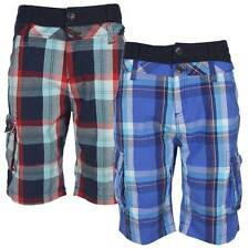 Cotton Checked Casual Regular Size Shorts for Men