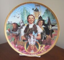"""The Wizard of Oz """"Fifty Years of Oz"""" 50th Anniversary Porcelain Plate"""