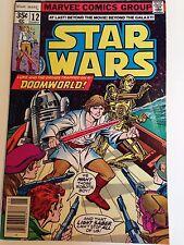 Vintage Star Wars #12 Marvel Comic book
