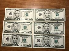 1999 $5 Star Notes currency lot of 6    E  Richmond