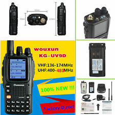 WouXun KG-UV9D Multi-Band 136-174/400-480MHz Air Band 5W 2000mAh Two Way Radio