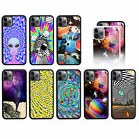 Psychedelic Apple iPhone 11 (2019) Case   Phone Back Cover