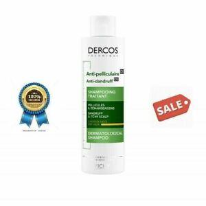 Vichy Dercos Anti-Dandruff Shampoo For Dry Hair - 200 ml
