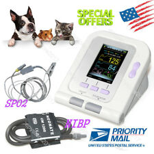 USA FDA VET 6-11cm CUFF+SP02 Digital Automatic Veterinary Blood Pressure Monitor