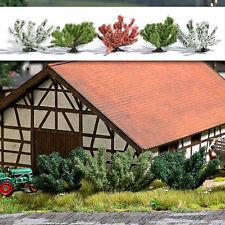 Busch 6060 scala H0 5 frühlingsbüsche # NUOVO in scatola originale #